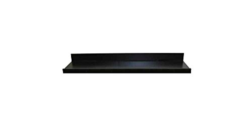 Picture Ledge Floating Wall Shelf in Black Finish )