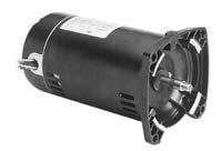 Flange Replacement Motor - 1.5 hp 3450rpm 48Y Frame 230/460 volts 3 Phase Square Flange Pool Pump Replacement Motor AO Smith El