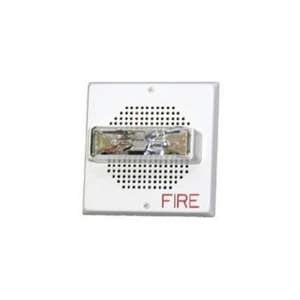 75W-FW - Square wall mount speaker/strobe, White, 1575 cd, 25/70 vrms ()