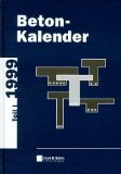 Beton-Kalender 1999 Teil 1 and 2 + D3, Eibl, 3433014248