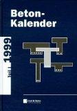 Beton-Kalender 1999 Teil 1 and 2 + D3 9783433014240