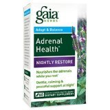 Gaia Herbs Adrenal Nightly Supplement product image