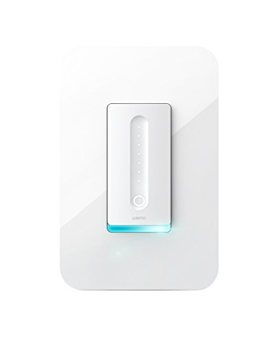 (Wemo Dimmer WiFi Light Switch, Works with Alexa, the Google Assistant and Apple HomeKit (F7C059))