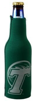 Tulane Green Wave NCAA Bottle Suit Koozie Huggie Cooler