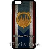 [Battlestar Galactica Caprica Flag HD image phone cases cover for iPhone 6] (Galactica Costumes)