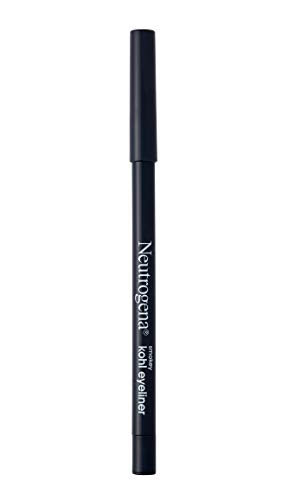 Neutrogena Smokey Kohl Eyeliner with Antioxidant Vitamin E, Water-Resistant & Smooth-Gliding Eyeliner Makeup, Smokey Gray, 0.014 oz