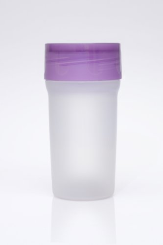 Litecup - Purple - Non Spill Cup w/ Night light for toddlers,...