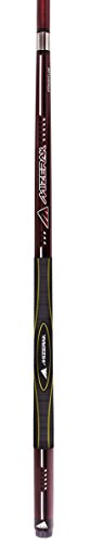 Escalade Sports Mizerak Premium Carbon Composite 3D Grip Cue, 58