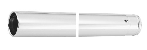 Custom Cycle 41mm Show Chrome Fork Tubes - 20.25in.