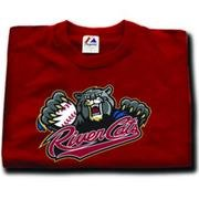 Minor League Sacramento River Cats T-Shirt Style Jersey (Adult Small)