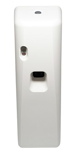 Big D 757 Light-Activated Aerosol Dispenser, White, Covers Space of 6000 cu ft - Automatic air freshener ideal for restrooms, offices, schools, restaurants, hotels, stores