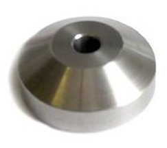 Stainless Steel 45 Adapter (Single) ()