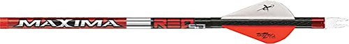 Eastman Outdoors Maxima Red Sd 350 Arrows With Blazer Vanes And Loose Inserts