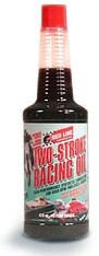 Red Line Two-Stroke Racing Oil - 16 oz. (Case of 12 Bottles) by Red Line Oil