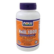 Now Foods Neptune Krill Oil, 60 Softgels 1000 mg (Pack of 2)