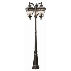 Trans Globe Lighting 50518 BK Outdoor Candlewood 80.75