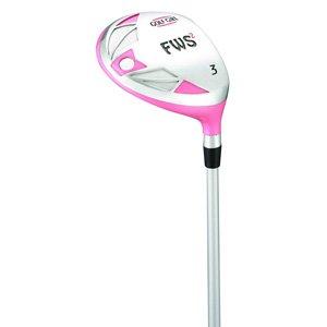 Golf Girl FWS2 LADY LEFTY Pink Hybrid Club Set Cart Bag