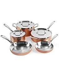 Cuisinart HCTP-8W Hammered Copper Set (8-Piece)