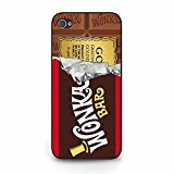 Retro Willy Wonka Costumes (Hot eye-catching Willy Wonka Phone Case Cover for Iphone 5/5s Chocolate Hardshell Protective)