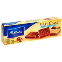 Bahlsen Bahlesn First Class Milk Chocolate Hazelnut Wafer...