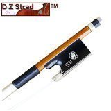 Pernambuco Violin Wood Bow for Intermediate Players and beyond-D Z Strad Model 500