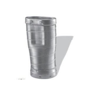 - DuraVent 4614-RO Chimney Relining Round-to-Oval Flex Pipe