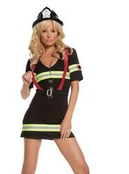 Firegirl Costumes (Ms. Blazin' Hot 1X-2X)