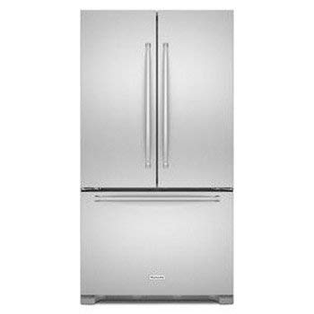 Kitchen Aid KRFF305ESS / KRFF305ESS / KRFF305ESS KRFF305ESS 25.2 Cu. Ft. Stainless Steel French Door Refrigerator -