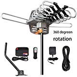 TV Antenna -VIEWPRO Outdoor Amplified HDTV Antenna 150 Mile Motorized with Adjustable Antenna