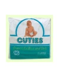 Cuties Premium Baby Diapers, Size 6, 23 ct Bag BOBEBE Online Baby Store From New York to Miami and Los Angeles