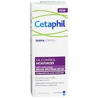 Cetaphil DermaControl Oil Control Moisturizer with Sunscreen Broad Spectrum SPF 30, 4 fl oz