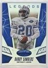 (Barry Sanders #/99 (Football Card) 2015 Panini Certified - Certified Legends - Mirror Blue #CL9)