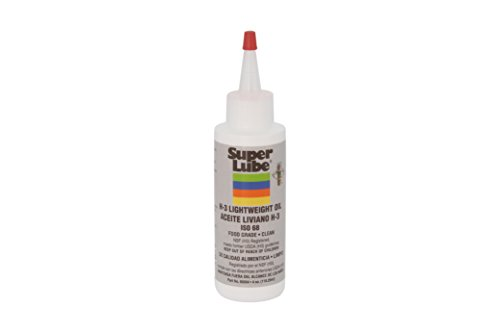 (Super Lube 60004 H3 Lightweight Oil, Translucent Clear)