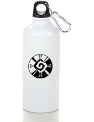 Native American Religion Cool Aluminum Sports Water Bottle - 400/500/600ML 400ml (Sigg Water Bottle Cleaner)