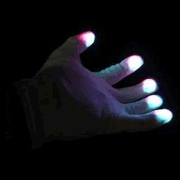 (LED Rave Gloves Multicolored Wholesale 10)