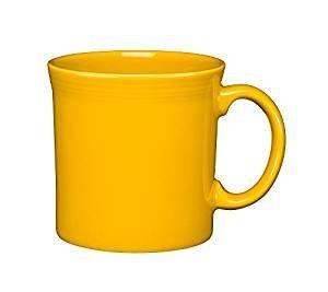 Homer Laughlin 570-342 Fiesta 12 oz Tabletop Java Mug, Daffodil