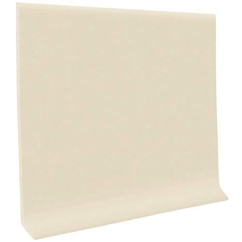 (HC40C53S184 Self-Stick Vinyl Wall Base, Almond)