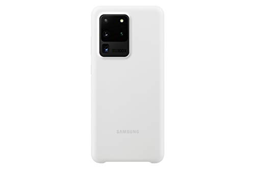 Samsung Original Galaxy S20 Ultra 5G Silicone Cover/Mobile Phone Case - White