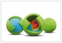Oblo Puzzle Spheres Multi