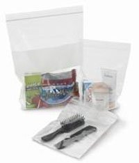 Z2.0406W Bags Ziplock Clear 4x6 1000 Per Case by Medical Action Industries -Part no. Z2.0406W
