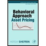 img - for Behavioral Approach to Asset Pricing (REV 09) by Shefrin, Hersh [Hardcover (2008)] book / textbook / text book