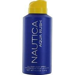 Nautica Aqua Rush All Over Body Spray 4 Oz