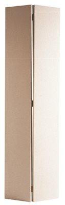 Masonite Bi-Fold Hardboard Door, Primed White, 32X80 in.