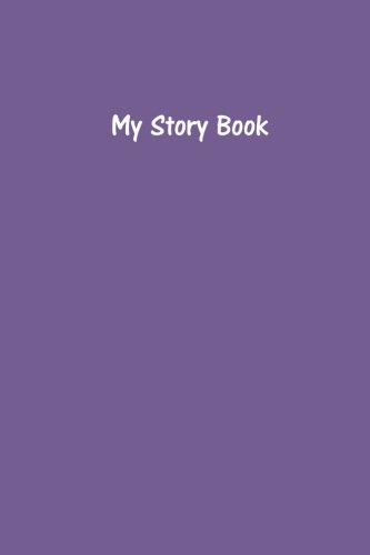 My Story Book - Create Your Own Picture Book in Deluge Purple: Medium Ruled, Soft Cover, 6 x 9 Journal, 200 Pages ebook