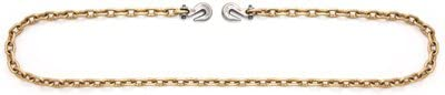 Apex Tool Group T0513678 Binder Chain, Clevis Hook, Pail.375-In. x 20-Ft. - Quantity 3