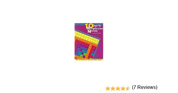 10 Days to Multiplication Mastery: And More (A Commutative ...