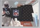 Julius Peppers #157/350 (Football Card) 2003 SPx Winning Materials Jersey NFL -