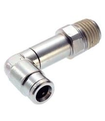 3//8 NPT thread Norgren 124540638 Pneufit Extended Swivel Male Elbow 3//8 tube O//D