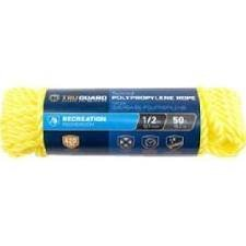 MIBRO Group (The) 643711 Yellow TG 1/2x50 YEL Poly Rope