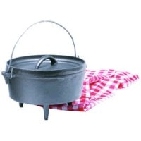 Texsport Cast Iron Dutch Ovenfor these Campfire Cook Like A Pro With Our Dutch Oven Camp Cooking Tips, master more precise temperature control, use proper coal placement and the right number of charcoal briquettes with our easy-to-follow Dutch oven temperature chart